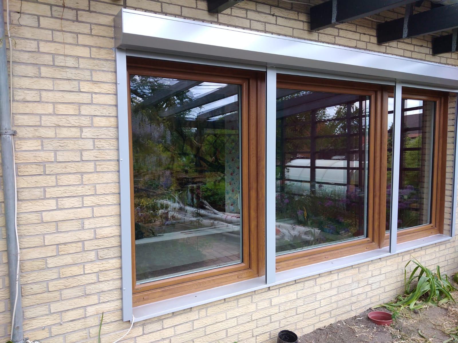 Neue Fenster und Rollläden