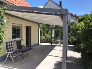Sommer, Sonne – Terassendach!