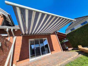 Tausch: Markise gegen Terrassendach
